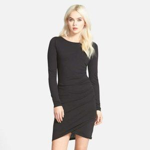 Leith | Long Sleeve Ruched Body-Con Dress